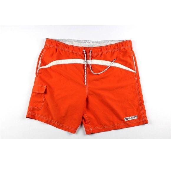 5333d03766 Tommy Hilfiger Swim | Vintage 90s Mens Xl Shorts | Poshmark